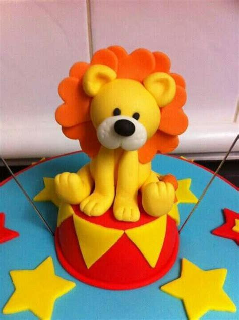 Circus lion cake topper   Cakes!!!   Pinterest   Lion