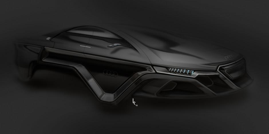 Tech Know New Audi Hover Car Concept Pilerats