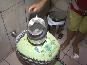 Racionamento de água em Caetité, na Bahia (Foto: Reprodução/TV Bahia)