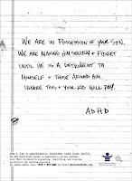 NYU Child Study Center ad about ADHD