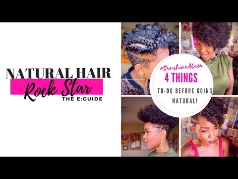 Natural Hair Rockstar E:Guide | How To Go Natural, Stay Natural and Rock It! Chapters 1-4