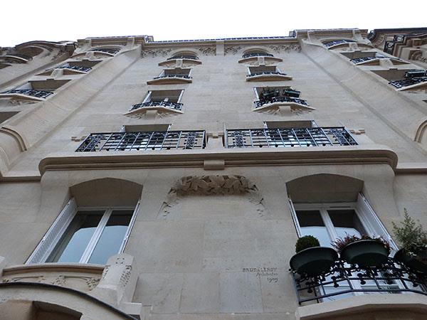 façade 1909