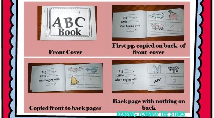 http://www.teacherspayteachers.com/Product/ABC-Book-Template-for-Review-of-the-Alphabet-1215101