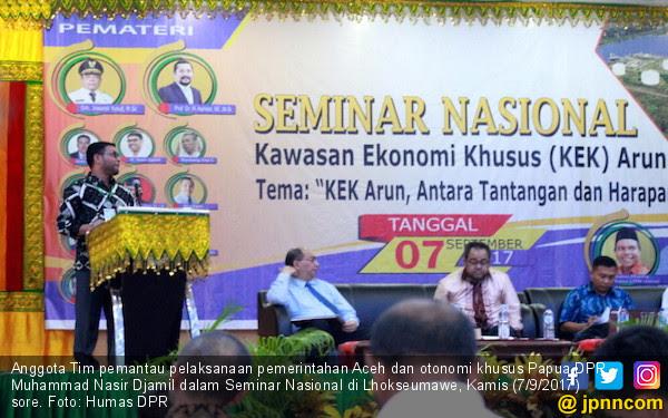 DPR Dukung KEK Arun Aceh Segera Terealisasi - JPNN.COM