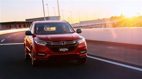 2020 Honda Hrv Spy Photos Review