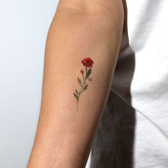 Small Rose Tattoos 30 Beautiful Tiny Rose Tattoo Ideas