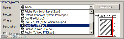 dwf to pdf plotter autocad troubleshoot