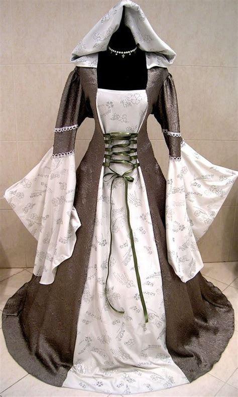 medieval wedding dress goth renaissance larp  xxl xxxl
