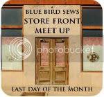 Store Front Meet Up at Blue Bird Sews
