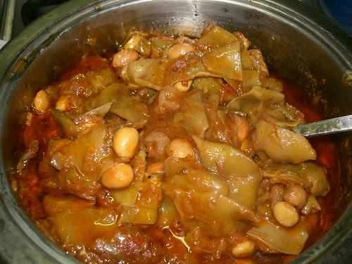 barbounofasoula red runner beans