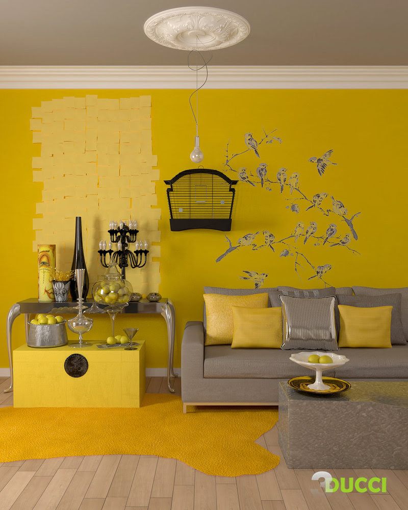 Yellow Room Interior Inspiration: 30+ Rooms For Your Viewing Pleasure