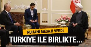 Ruhani'den Türkiye'ye: