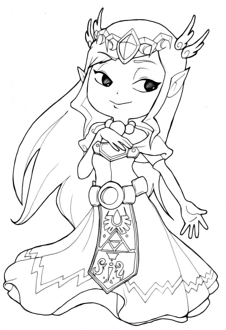 Wolf Link Coloring Pages at GetColorings.com | Free ...