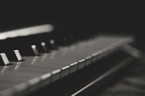 brown wooden piano  stock photo