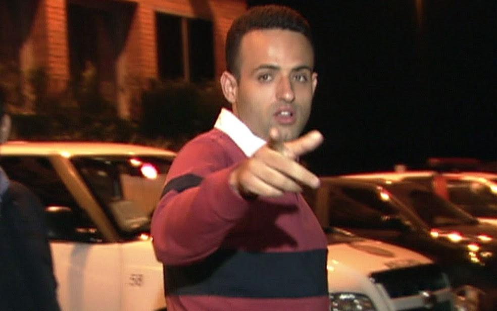 O prefeito eleito de Embu das Artes, Ney Santos, teve prisão decretada  (Foto: TV Globo/Reprodução)