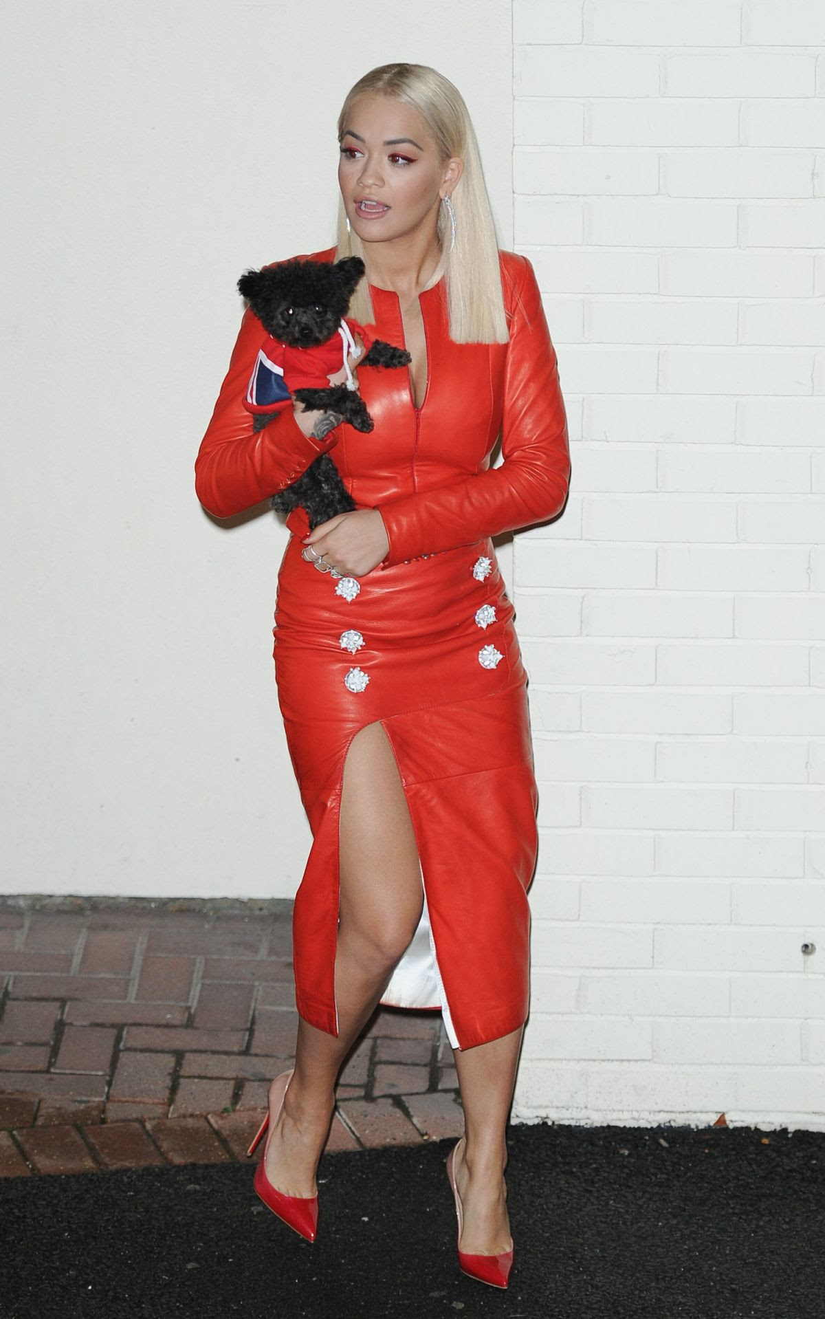 RITA ORA Leaves The X-factor Studios in London 10/24/2015