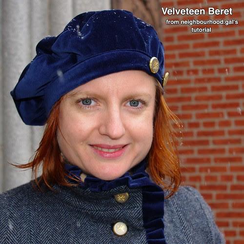Velveteen Beret Thumbnail