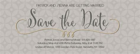 Free Save the Date Invitations and Cards   Evite.com