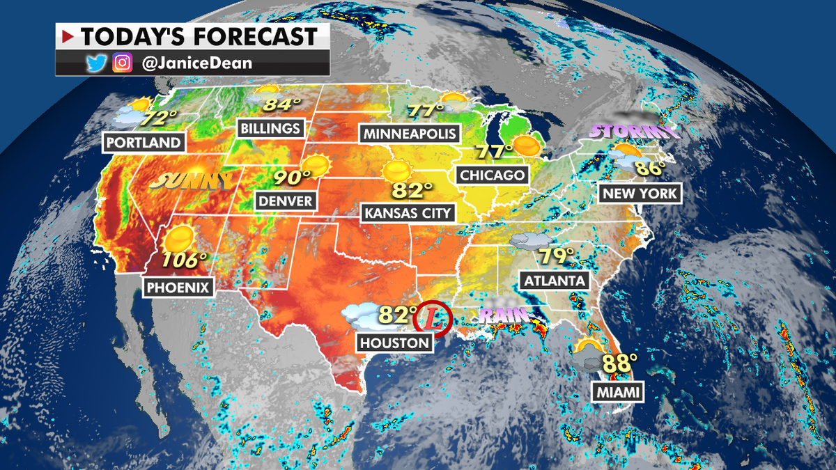 Tropical Depression Nicholas will bring flood threats as wildfire danger continues throughout US West