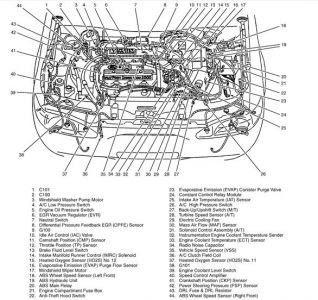 1998 Mercury Tracer AC Clutch Relay: 1998 Mercury Tracer I ...