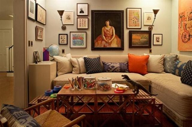 Arts for Living Room Wall Decorating Ideas | Beautiful Homes Design