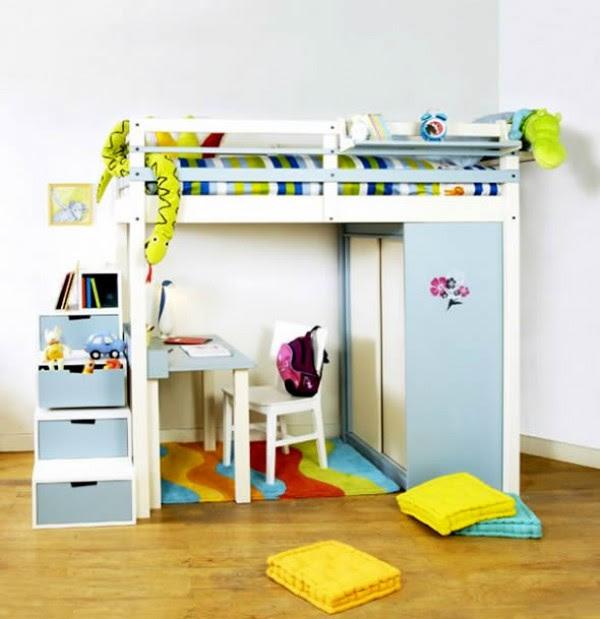 Space-Saving Ideas for Small Bedroom   Home Design, Garden ...