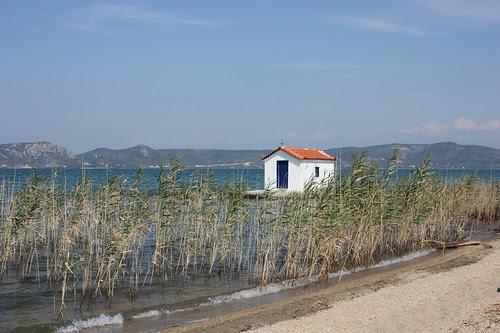 Small church in the sea