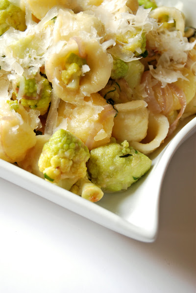 Orecchiette with Romanesco, Potato and Basil
