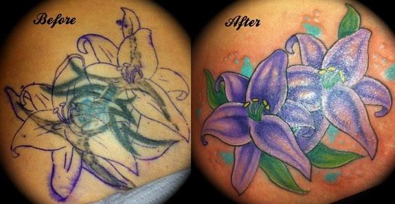 Cover Up Lotus Tattoo Tattoo Love