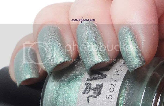 xoxoJen's swatch of Vivid Lacquer What The Fort
