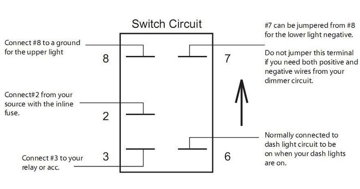 On Off Rocker Switch Wiring