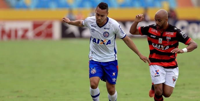 Atlético-GO x Bahia; Edigar Junio (Foto: Felipe Oliveira / Divulgação / E.C. Bahia)