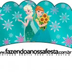 Saias Wrappers para Cupcakes Frozen Fever Cute