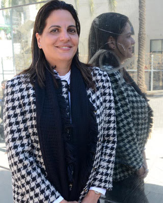 La médico cubana Tania Lizz, en su visita a Barcelona. FRANCESC SANS.