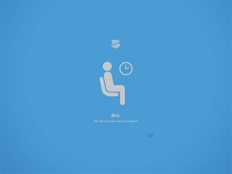 brb justin barber digital art lie minimalistic wallpaper
