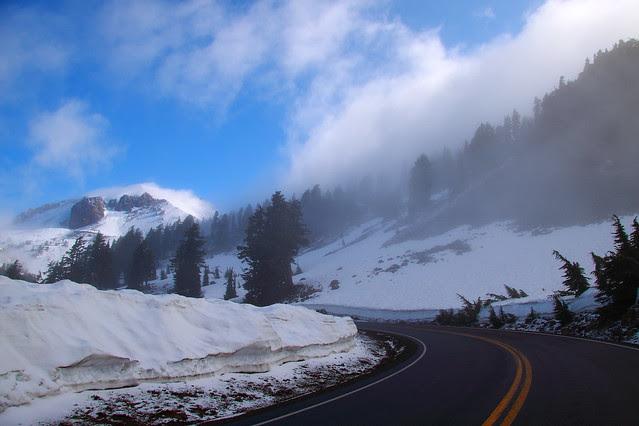 IMG_3837 Lassen Peak and Main Park Road in Lassen Volcanic NP