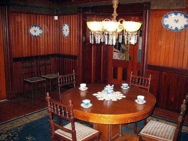 Victorian Dining Room - Millwork