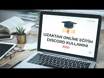 Discord'u Uzaktan Online Eğitimde Kullanma