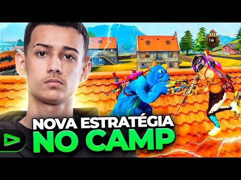 Free Fire:NOVA TÁTICA SECRETA!! NINGUÉM ENTENDEU NADA!!