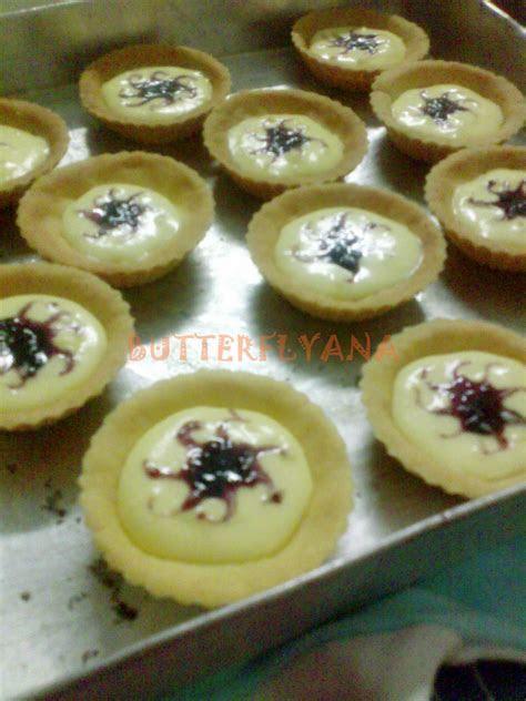 yana lyana resepi blueberry cheese tart