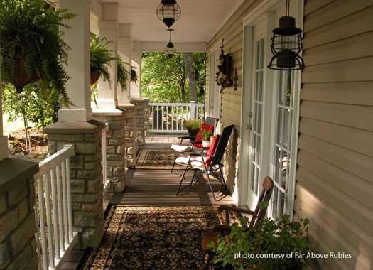 House Decorating: Summer Porch Décor Ideas