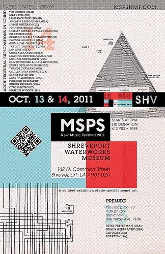 MSPS: Oct 13, 14, Shreveport  by trudeau
