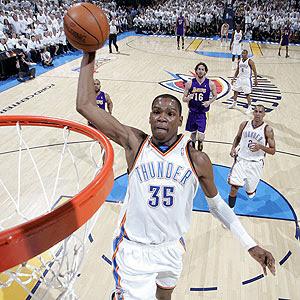 Thunder v Lakers
