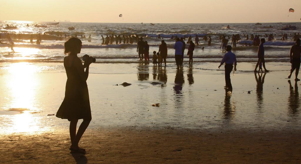 Calangute Photographer at Sunset - Goa, India 2
