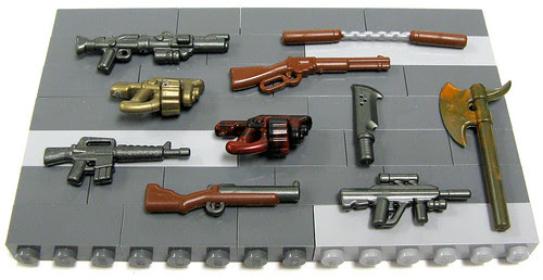 BrickArms - Prototypes Batch 1
