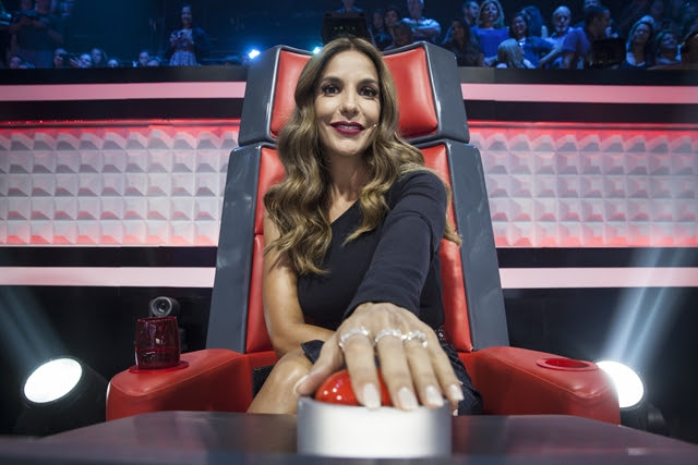 "Ivete Sangalo no ""The Voice Kids"" (Foto: Globo/Pedro Curi)"