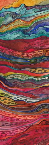 watercolor strata by megan_n_smith_99