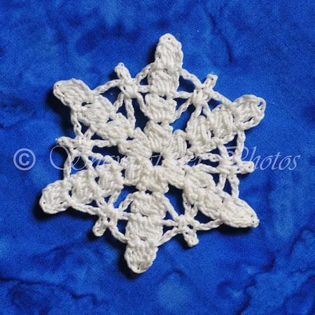 Cluster Petal Snowflake