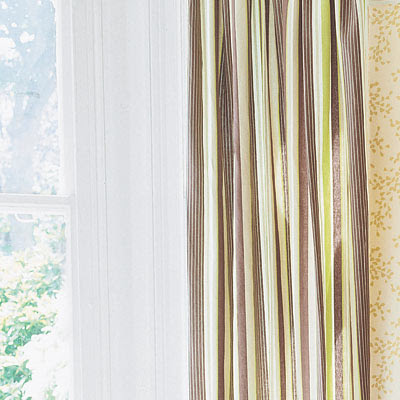 Striped Curtains | One Living Room, Four Great Designs | This Old ...