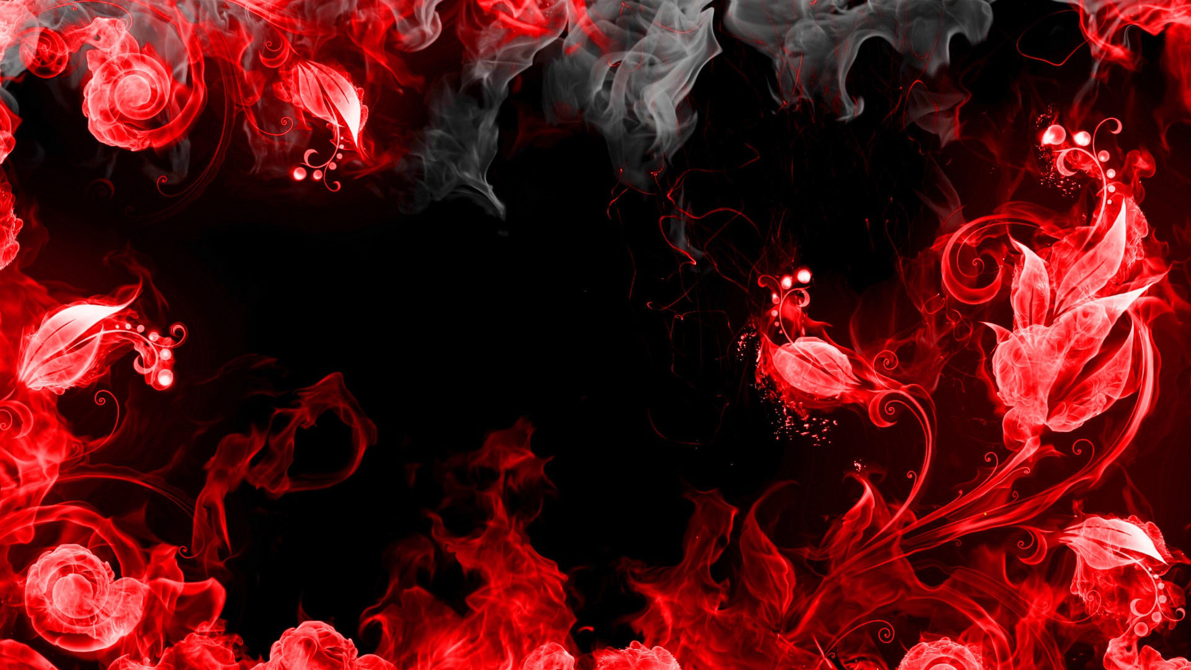 Download 600 Wallpaper Black Red 4k Paling Keren